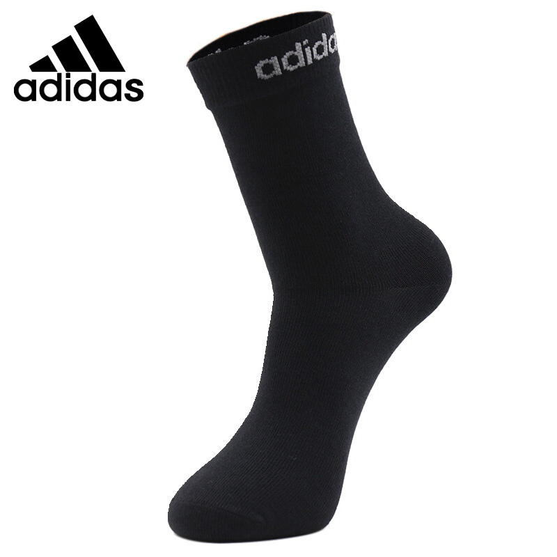 Original New Arrival  Adidas Neo Label Q3 B 1PP C SOX Unisex Sports Socks(  1 Pair )