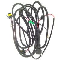 Beler H11 12 V Harnesses Wiring Sockets Wires Connector 2 Fog Lamp Lights