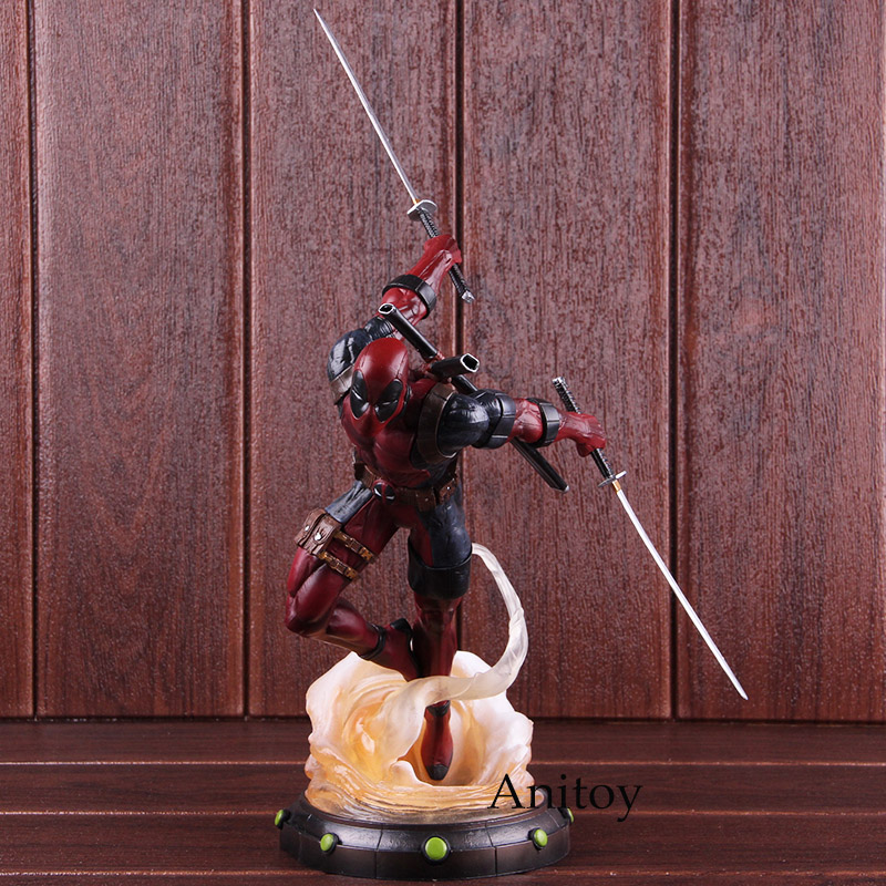 Marvel Legends Hot Toys Deadpool 2 Statue PVC Diorama Gallery Diamond Select Toys Figure Collectible Model