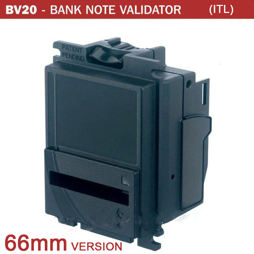 New 66mm version BV20 bill acceptor Technical data / BV20 Bill Acceptor/ Bill Validator SSP interface free shipping 20pcs lot mdb bill acceptor interface to computer