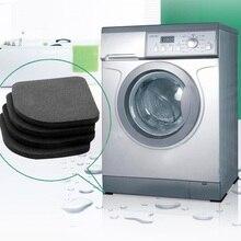 4pcsNew Washing Machine Anti Vibration Pad Shock Proof Non Slip Foot Feet Tailorable Mat Refrigerator Floor Furniture Protectors