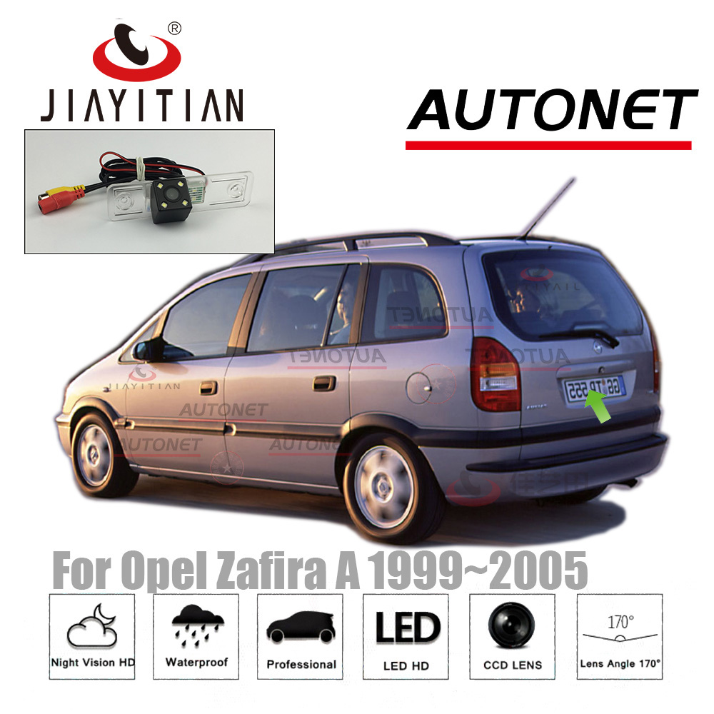 JIAYITIAN Rear View Camera For Opel Zafira A 1999~2005/CCD/Night Vision/Reverse Camera Backup Camera License Plate Camera
