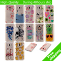 For Samsung Galaxy J7 J710 2016 TPU soft painting styles special phone back cover transparent protect skin shell