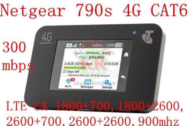 Débloqué netger AC790S 4g mifi routeur cat6 300 mbps 3g 4g wifi routeur 4g aircard 790 s 3g 4g mifi poche pk pk 762 s 760 s 782 s