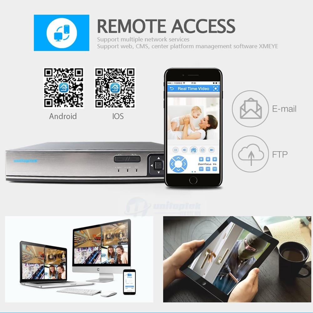 Камера видеонаблюдения, 8 каналов, POE, 5 МП, 48 В, NVR, поддержка 4*5 Мп/8*4 Мп, POE, IP, Onvif, сетевая камера видеонаблюдения, видеорегистратор XMEye