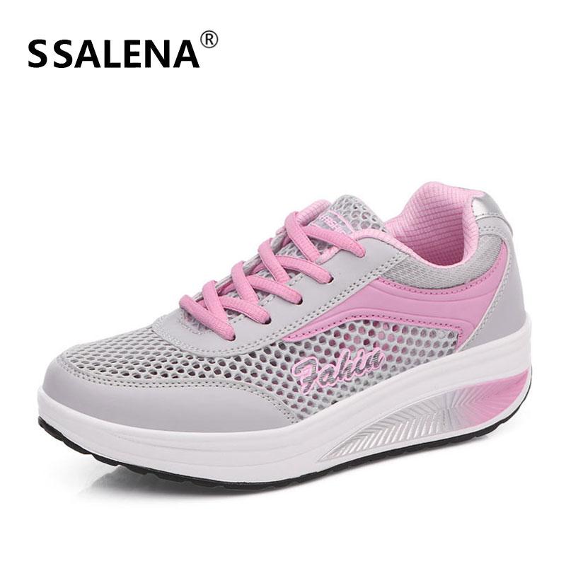 Frauen Abnehmen Workout Toning Sneaker Körper Gestaltung Fitness Abnehmen Schaukel Sport Schuhe Atmungsaktiv Cut-outs Weibliche Schuhe Aa60011 Sport & Unterhaltung