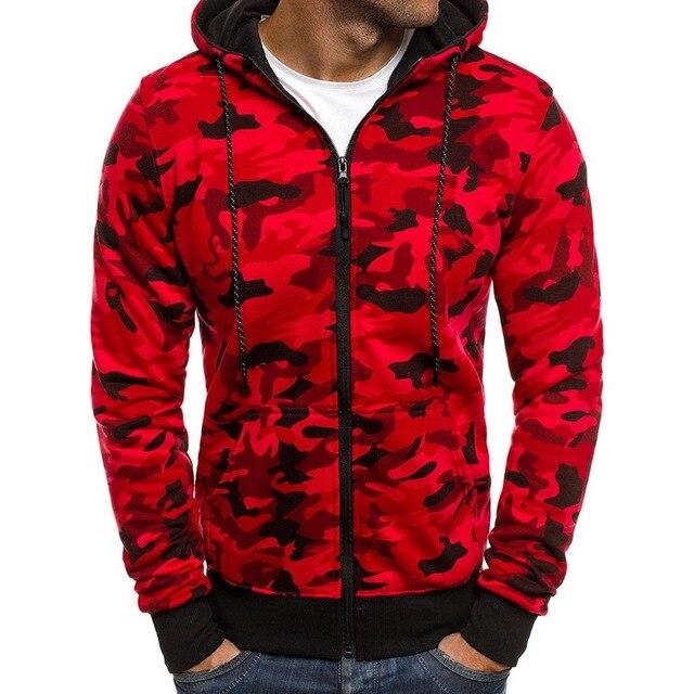 Laamei 2018 nueva Sudadera con capucha hombres camuflaje impreso franela  Hip Hop sudaderas moda hombres sudaderas 86684452cd6c