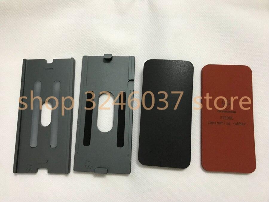 Laminatore stampo Stampo di Alta qualità Fit LCD e di vetro Per Samsung Galaxy S8 s7 s6 s9 bordo più nota 8 schermo LCD OCA laminatin