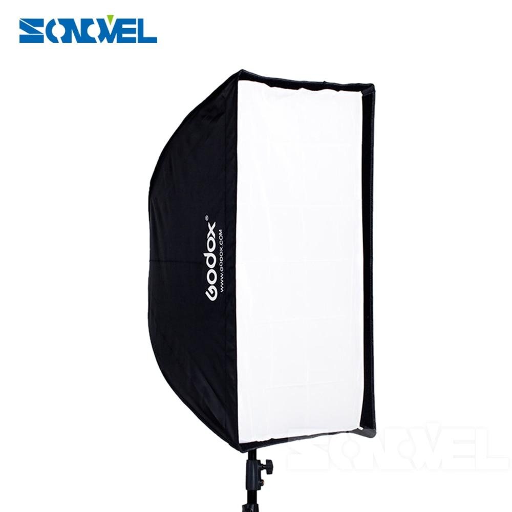 Godox 50*70 50x70 Flash Umbrella Softbox+hot Shoe Bracket+2M Light Stand +honeycomb Grid For Canon Nikon Godox YONGNUO FALSH