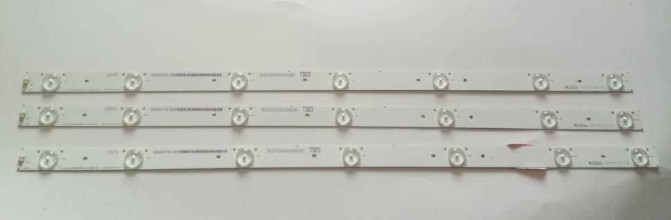 FOR His En Se 32inch LED32K188 LED32K188 LED32220 Strip Lamp HD315DH B21 3X7 3030C 7S1 7 Lamp 1PCS=7LED