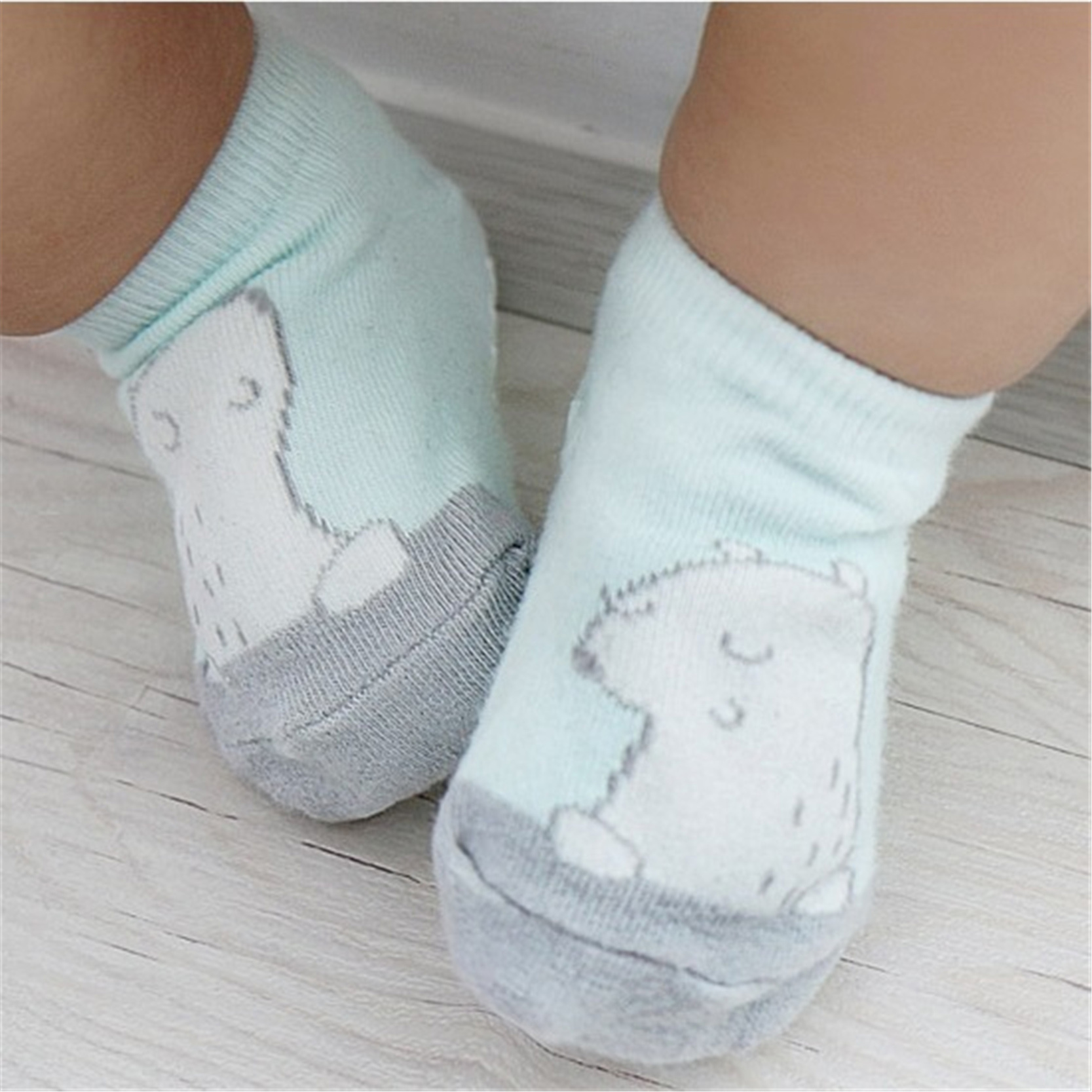 Kid Için sevimli Karikatür Unisex Anti Kayma Çorap Kız Erkek Pamuk Bebek Çocuk Kısa Ayak Bileği Çorap