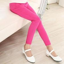 hot deal buy children's clothing 2019 spring models candy color tight girl pants pencil baby pants waichuan childrens pants 3-18 years
