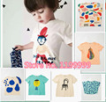 INS BOBO CHOSES kids  t shirts for boys tees/vetement enfant 2-7 yrs boy girls reine des neiges garcon vestidos  FAMILY WEARS