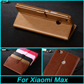 For Xiaomi Mi Max 6.44 inch Case Flip TPU Cover+PU Leather Case Cover Phone Cases For Xiaomi Mi Max With Card Holder