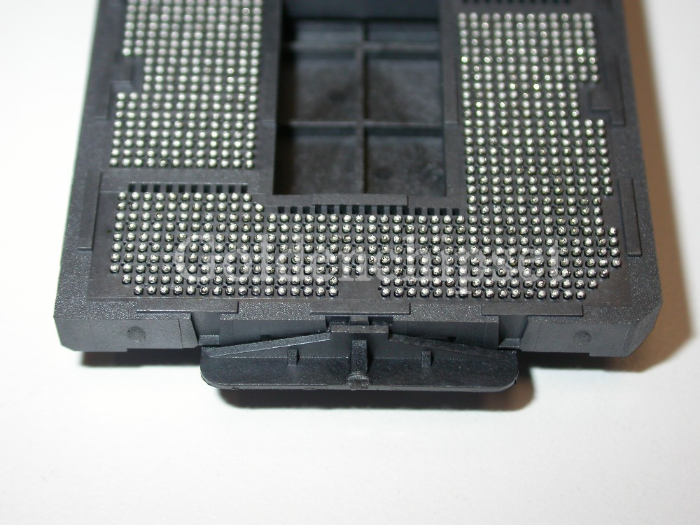 Possibly one of the worst bent lga1150 socket pin cases: is it ...