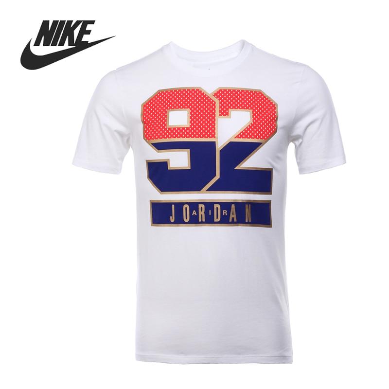 Original New Arrival  NIKE  AJ 7 92 TEE  Men's T-shirts  short sleeve Sportswear рюкзак nike 2015 aj