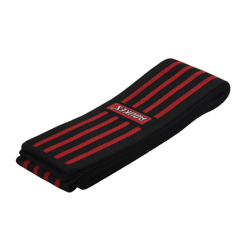 New Sale AOLIKES Power Weight Lifting Knee Legs Wrap Sport Gym Training Squat Brace Bandage Strap