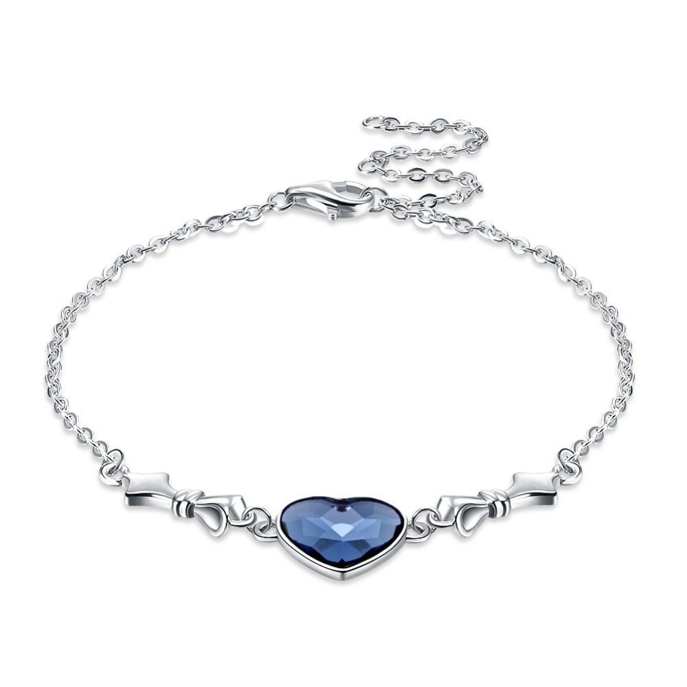TR010 Zirconia stone 925 Sterling Silver Bracelet and Necklace Female Wedding Jewelry