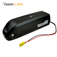 52V 12.8AH E BIKE Battery LG 18650 Cell Li ion Electric Bike Battery HAILONG 52V Battery With 2A Charger for 48V Motor BBS02 HD