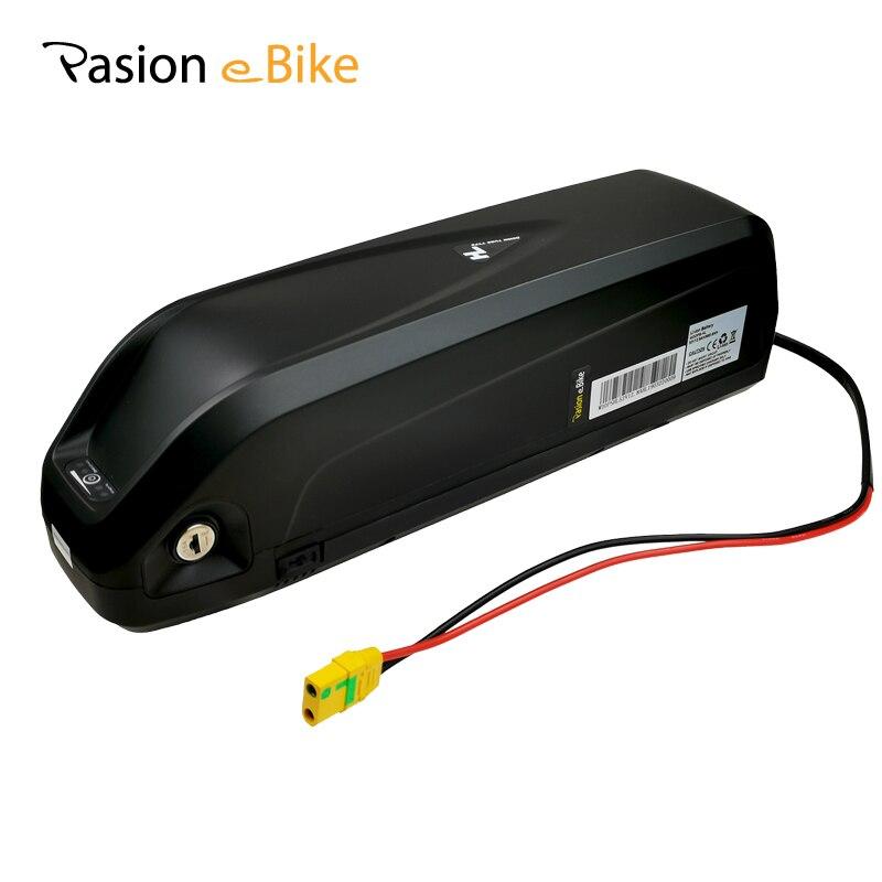 52V 12.8AH E BIKE Battery LG 18650 Cell Li-ion Electric Bike Battery HAILONG 52V Battery With 2A Charger for 48V Motor BBS02 HD