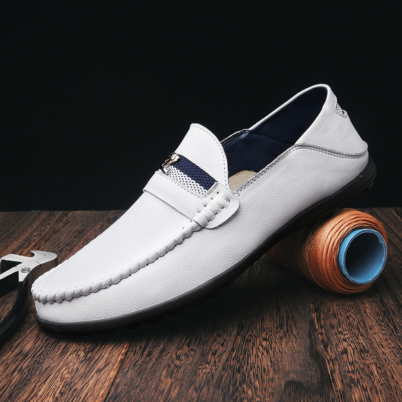 Men Loafers Luxury Party Shoes Leather Shoes Men Moccasins Slip On Casual Breathable Loafers Wedding Shoes Male Driving Shoes