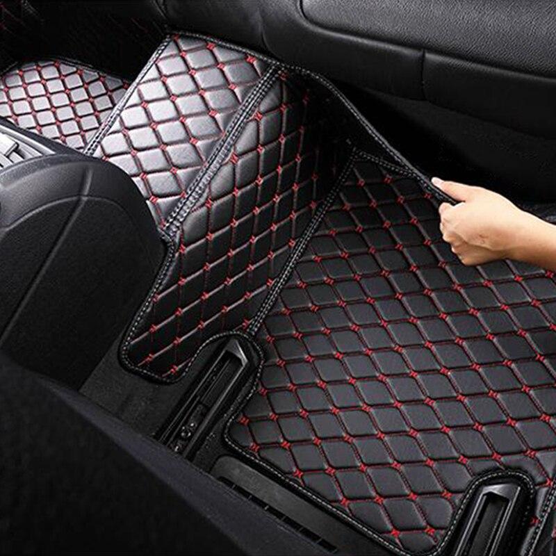 Tapis de sol de voiture pour mercedes w212 gla w245 w211 w169 ml cla w204 gle tapis d'accessoires étanche - 3