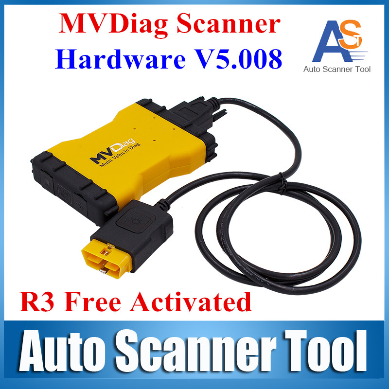 2016 Newest Brand MVD New VCI LED 3 IN1 Multi Vehicle Diag Car or Truck Diagnostic