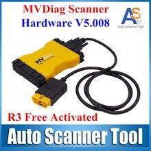 2016 Nueva Marca MVD Nuevo VCI LED 3 IN1 Multi vehículo Herramienta de Diagnóstico de Diagnóstico Del Coche o Camión V5.008 R3 Envío Actiave
