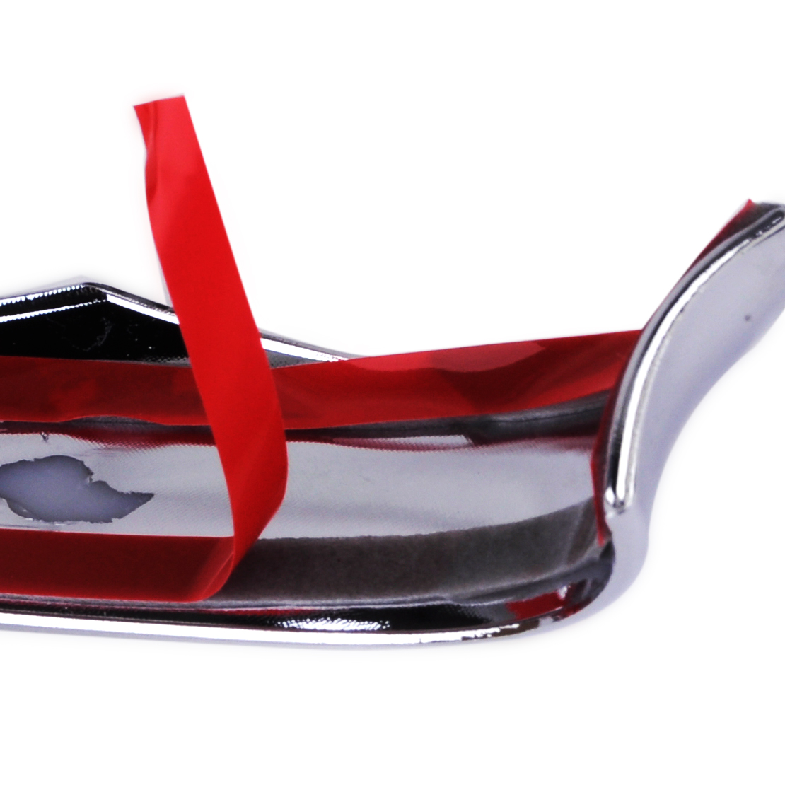 DWCX New Car Styling Chrome Plated ABS Rearview Mirror Cover Trim Decoration 26x2.6cm Fit For Mazda 6 Atenza 2014 2015 2016 2017