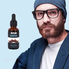30ml Men Beard Oil Moisturizing Smoothing  for Styling Growth 100% Natural Gentlemen Beard Care Conditioner T7