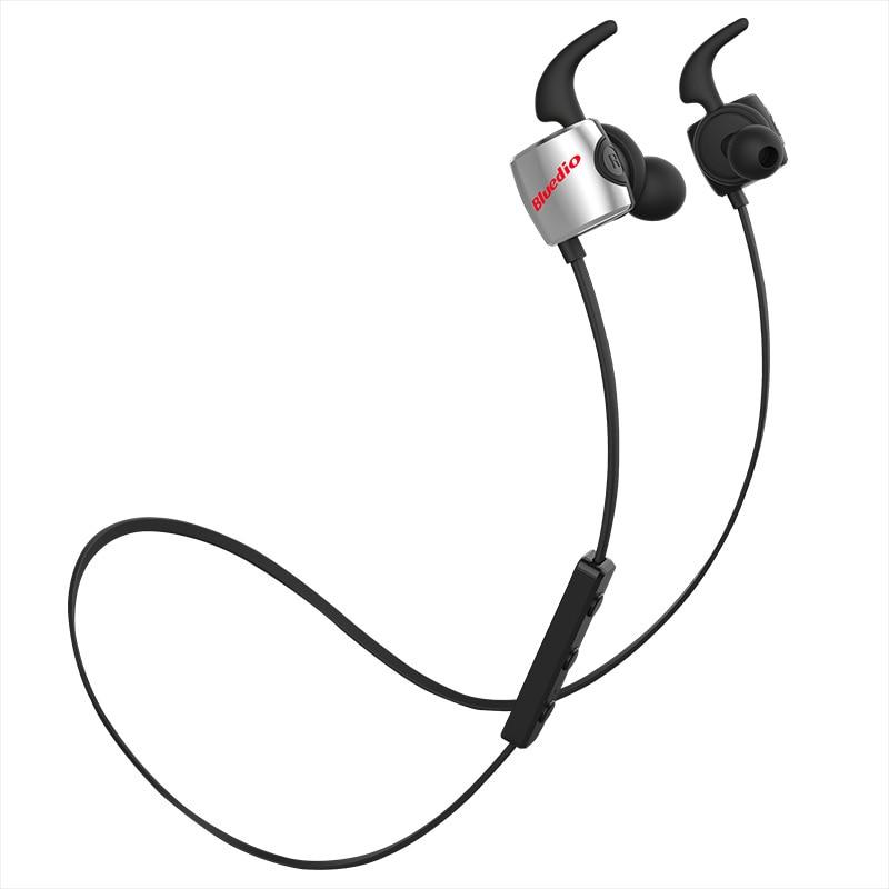 TE Bluetooth 4.1 Wireless Sports Headphones, Sweatproof Running Earbuds with Mic Black Red Yellow Blue Green