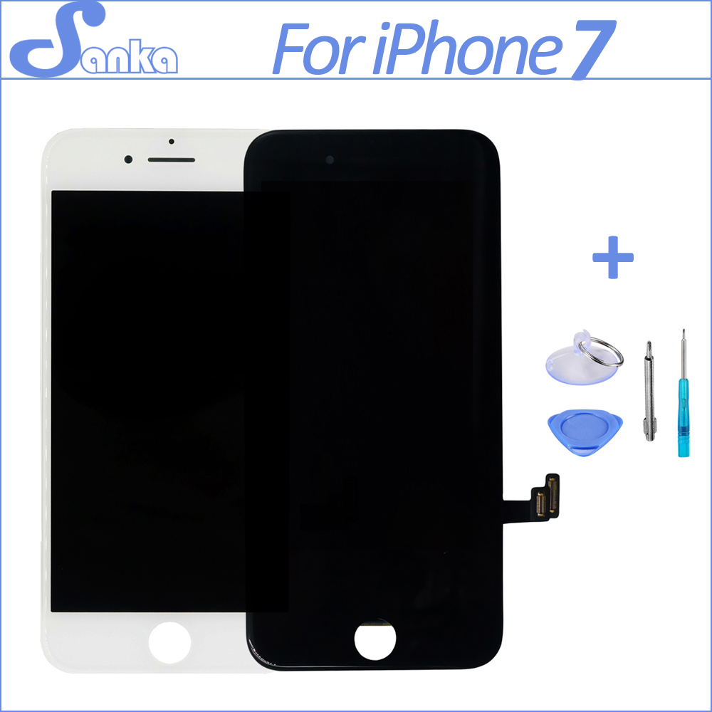 SANKA For iPhone 7 LCD Display Screen with 3D Touch Digitizer Assembly Replacement Pantalla LCD Screen Mobile Phone Parts OEM