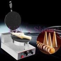 Elektrische ijsje maker Palacinka baker cone bakken machine crêpe maken machine krokante loempia 1kw 110 V 220 V EU US plug