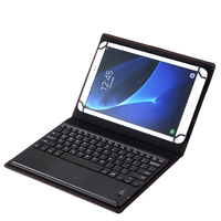 9 10 Universal Wireless Bluetooth Keyboard Leather Case Cover for Samsung Galaxy Tab A A6 10.1 2016 S Pen P580 P585