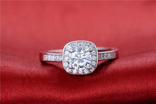CZ Stone Engagement Ring