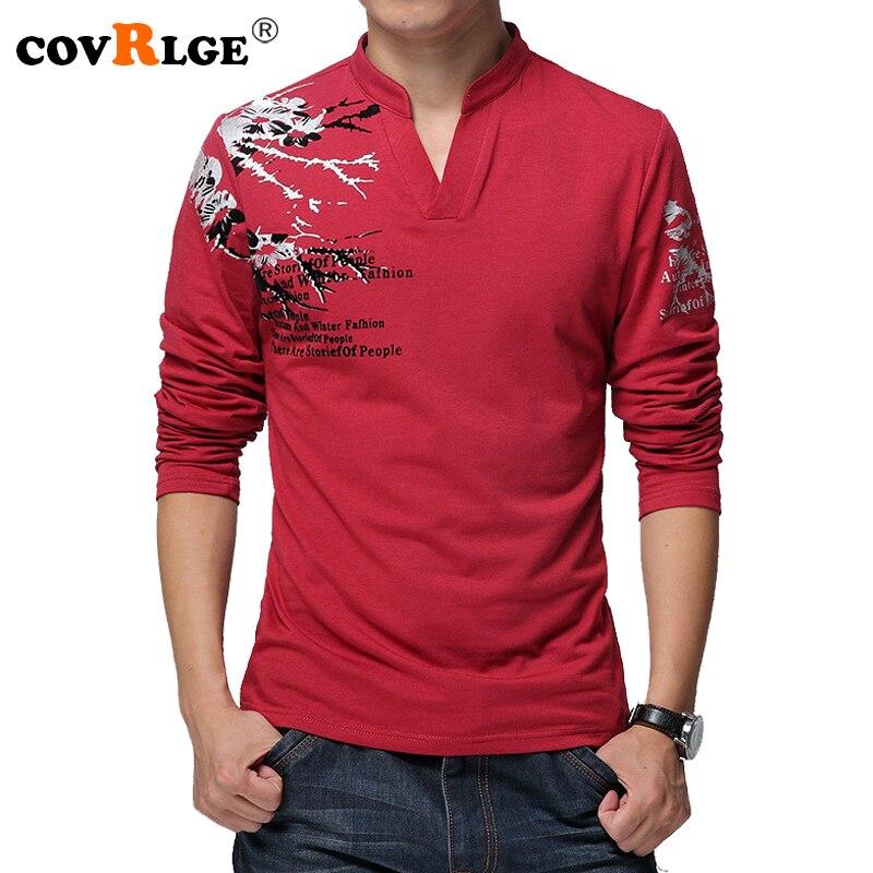 ec1f563c2b7 BIG SALE  CHEAP Covrlge 2018 Spring Men T-shirt 100% Cotton ...