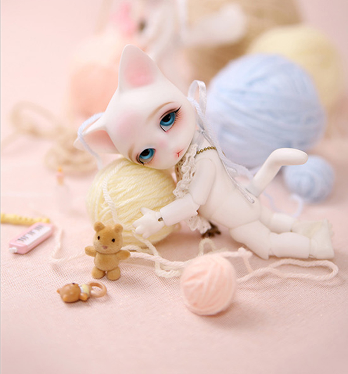 BJD 1/8 resin model Ringo Rooney baby doll Palm bjd free eyes free shipping-in Dolls from Toys & Hobbies    2
