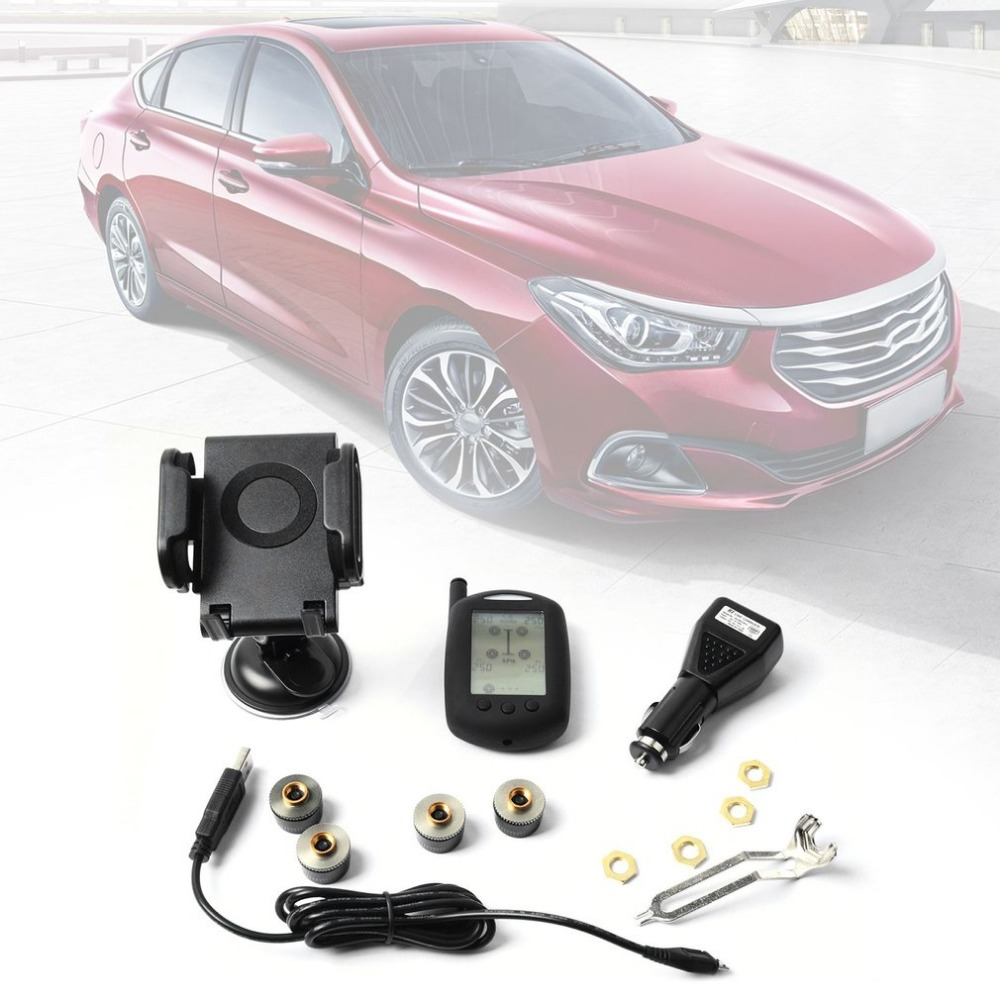 JET-M-300M External Tyre Pressure Monitoring System Portable Automobile TPMS Car Detector Vehicle Tyre Diagnostic Tools