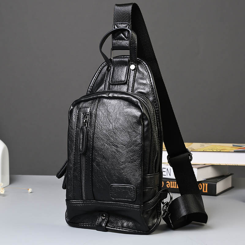 Korea pria pria utusan tas fashion kecil dada pack dada kecil tas bahu tas  rekreasi pasang pria travel tas versipacks 3c57cffc2a
