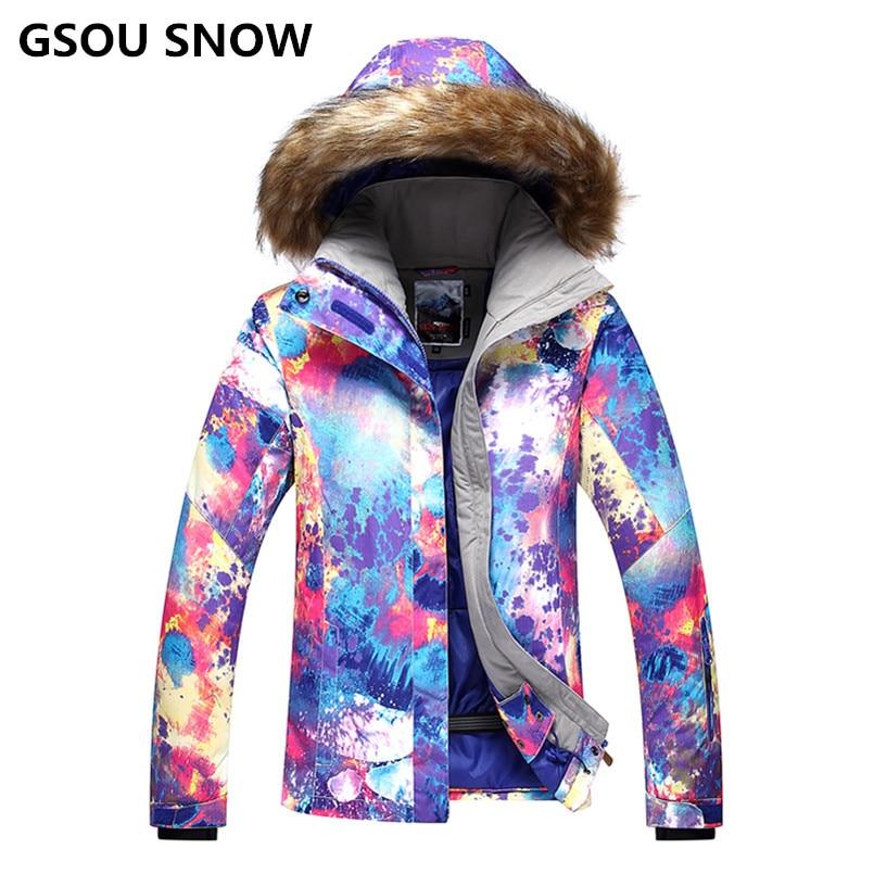 Здесь продается  2018 GS ski jacket women winter snowboard jacket chaquetas de esqui cazadoras mujer veste ski suit female snow femme  Спорт и развлечения