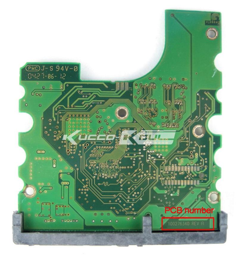 Hard Drive Parts PCB Logic Board Printed Circuit Board 100276340 For Seagate 3.5 SATA Hdd Data Recovery Hard Drive Repair
