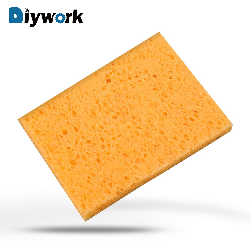 2019 Fashion Diywork 1 Pcs Welding Table Sponge Soldering Iron Tip Welding Cleaning 5x3.5cm High Temperature Resistance Sponge Universal Elegant And Sturdy Package