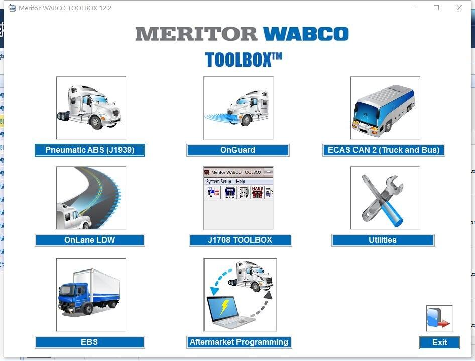 Meritor Toolbox 12.6.1 + crack [unbegrenzte installieren] für wabco
