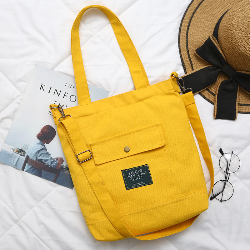 2018 Women Student Canvas Shoulder Bags Environmental Shopping Bag Large Capacity Tote Package Casual Handbag for Women Purse women s bag the new casual versatile one shoulder handbag shopping bag high quality student big capacity personality canvas