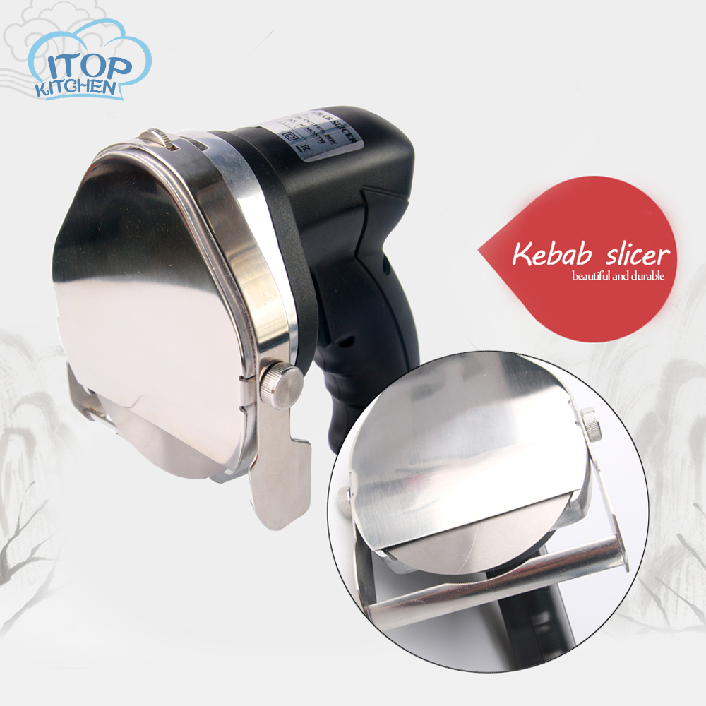 Fast Delivery Automatic Electric Doner Kebab Slicer Electric Shawarma Kebab Knife Kebab Slicer Gyros Electric Knife
