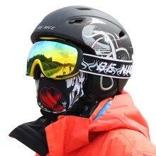 Benice Brand Unisex Adult Outdoor Winter Snow Sports Ski Helmet Skateboard Skiing Snowboard Snowmobile Helmet Protector