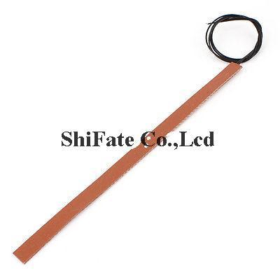 12V 7.5W Flexible Silicone Rubber Heater Heating Plate Strip 200mm x 10mm