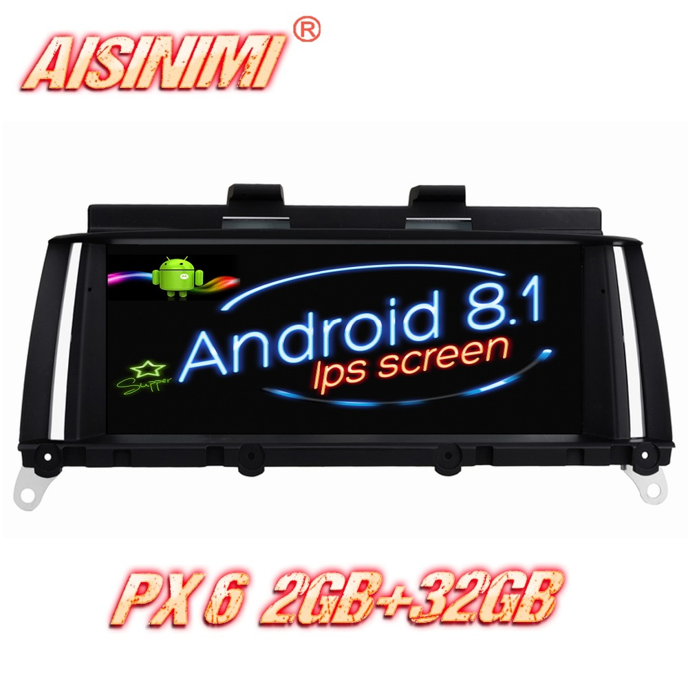 Android 8.1 For BMW X3 F25/X4 F26 Original NBT System, X3 F25 Original CIC System Car audio stereo car monitor screen all in one