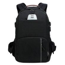 CAREELL C3058 DSLR kamera çantası fotoğraf çantası kamera sırt çantası evrensel büyük kapasiteli seyahat kamera sırt çantası için Canon/Nikon kamera