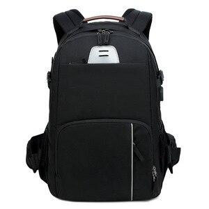 Image 1 - Careell c3058 dslr saco da câmera foto mochila câmera universal grande capacidade de viagem mochila para canon/nikon câmera